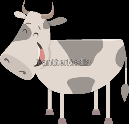 cow farm animal character