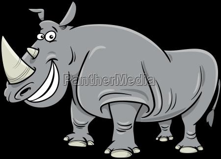 rhinoceros cartoon character