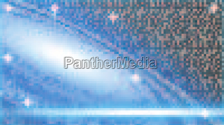 digital vector blue space and cosmic