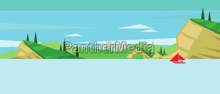 digital vector abstract background with a