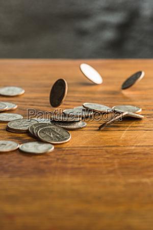 bank, kreditinstitut, geldinstitut, dollar, dollars, objekte - 20764445