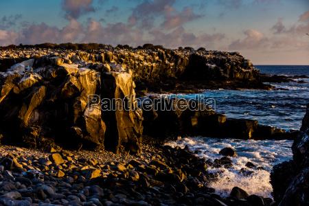 cliffs of espanola inselgalapagos inselnunesco weltkulturerbeecuadorsuedamerika