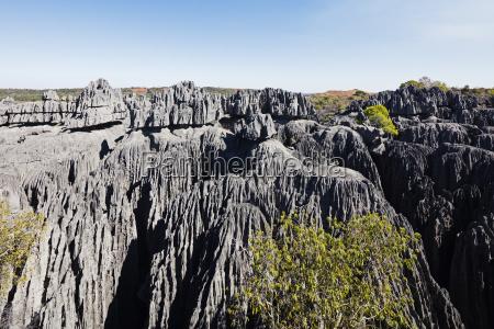 grand tsingytsingy du bemaraha nationalparkunesco weltkulturerbewestlichen