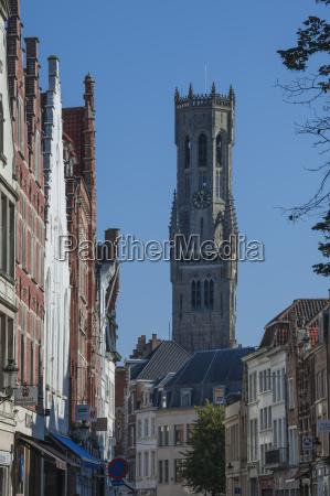 belfried, brügge, unesco-welterbestätte, belgien, europa - 20905489