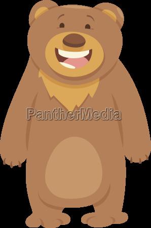 tier, bär, braun, bräunlich, brünett, illustration - 20910611