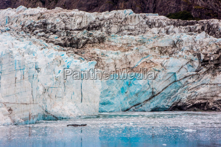 glacier bay national park viewed from