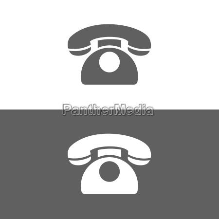 classic phone icon