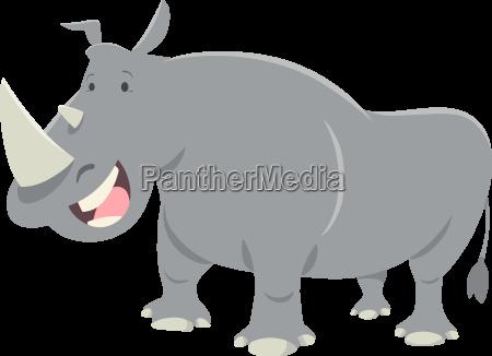 rhinoceros animal character