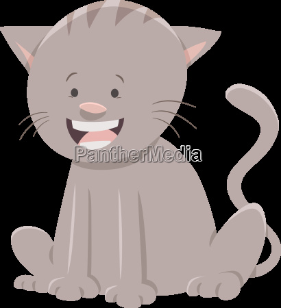 cat or kitten cartoon character