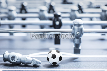 foosball table close up