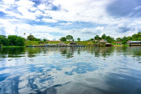 small amazonian village