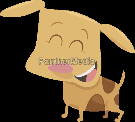 cute puppy cartoon character