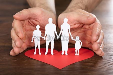 hand, sohn, gemeinschaft, beschützen, schutz, schützen - 21352091