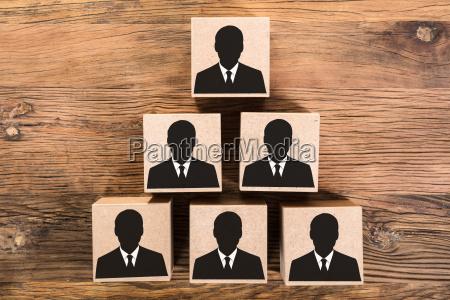 wooden candidate pyramid