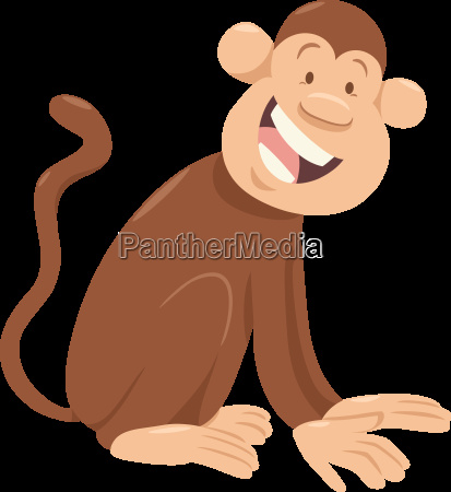 monkey cartoon animal character
