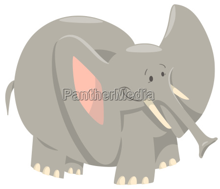 elephant cartoon wild animal