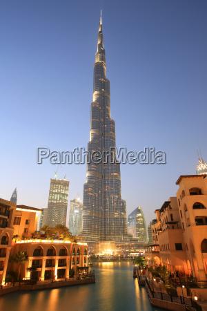 dubai burj khalifa downtown hochhaus wolkenkratzer