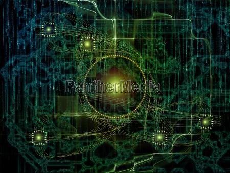 visualization of technology links